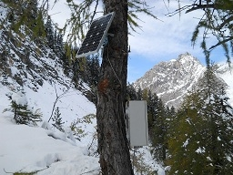 Landslide data acquisition system.